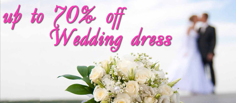 special price for wedding dress
