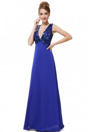 Evening dresses Blue color
