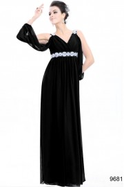 Evening dresses Black color
