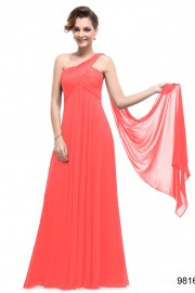 Evening dresses Coral color