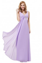 Evening dresses Lilac color