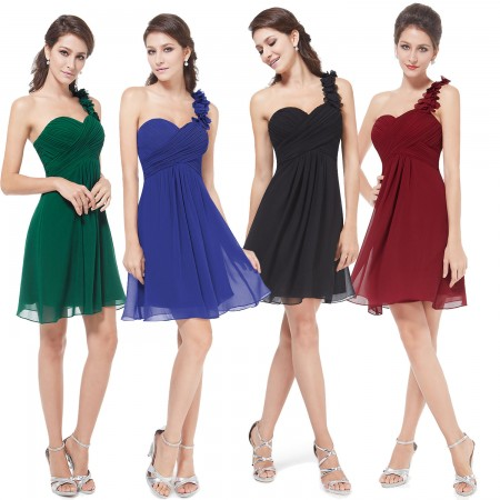 Bridesmaids dresses Mini / Knee Lenght
